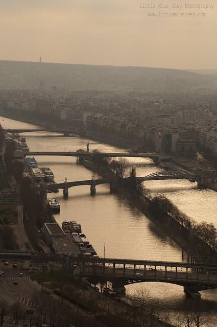 Bridges over the Seine