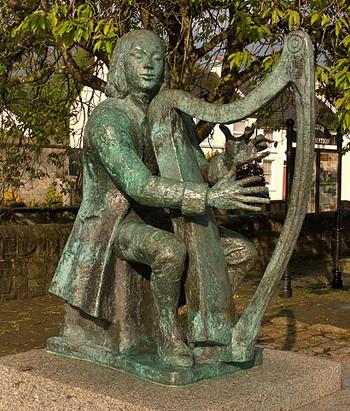O Carolan statue photo