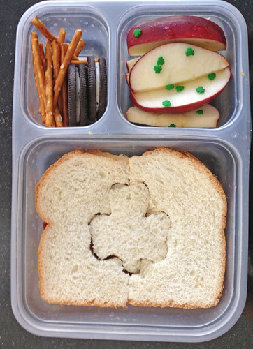 St Patricks Day themed lunch