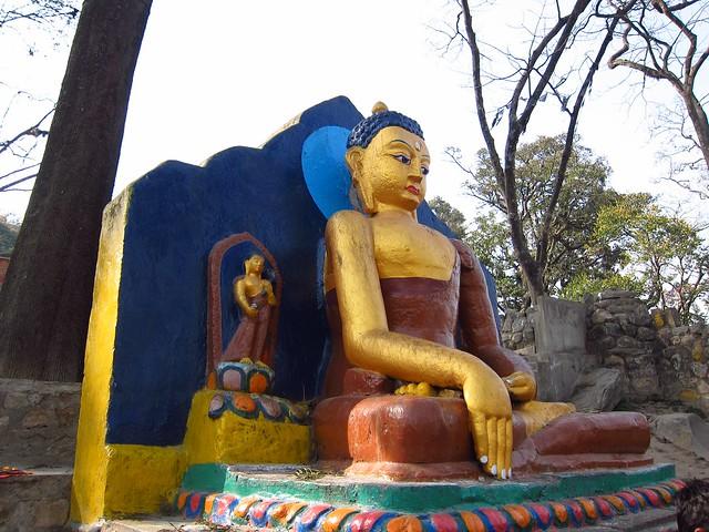 Buddha at Swayambhu