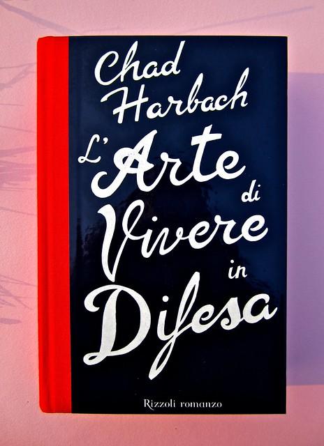 Chad Harbach, L'arte di vivere in difesa. Rizzoli 2011. Art director Francesca Leoneschi; graphic designer: Andrea Cavallini. Copertina (part.), 1