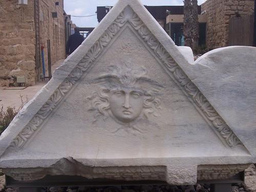 Caesarea carving