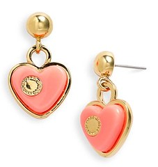 MARC BY MARC JACOBS 'Big Charms' Heart Drop Earrings