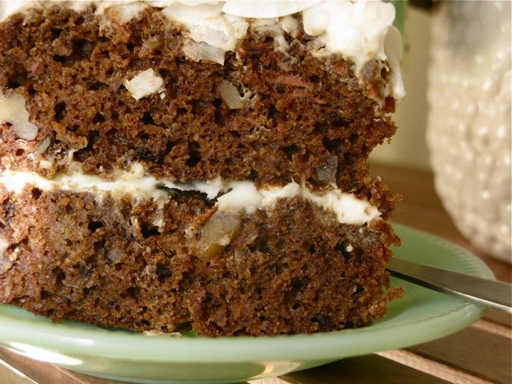 carrot coconut cake 008