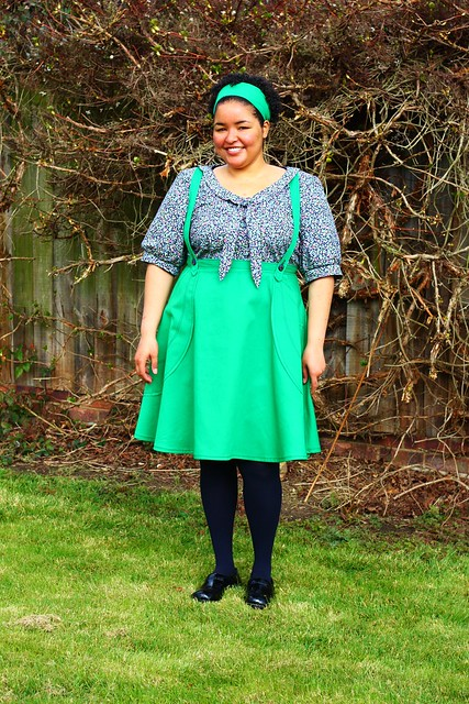 Victory Patterns Madeleine Skirt