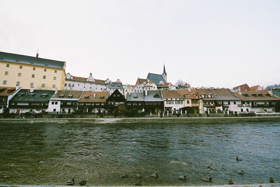 克倫洛夫(Český Krumlov)