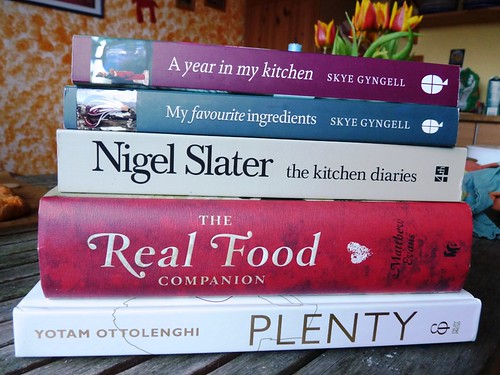 I've ordered some cook books