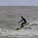 Surfing on Frigid Lake Erie