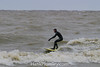 Surfing on Frigid Lake Erie