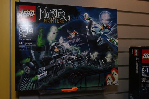 Toy Fair 2012 - Monster Fighters - 9467 The Ghost Train - 01