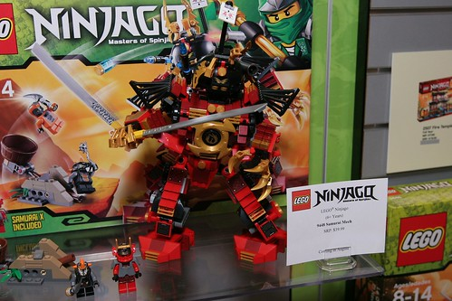 Toy Fair 2012 - Ninjago - 9448 Samurai Mech - 03