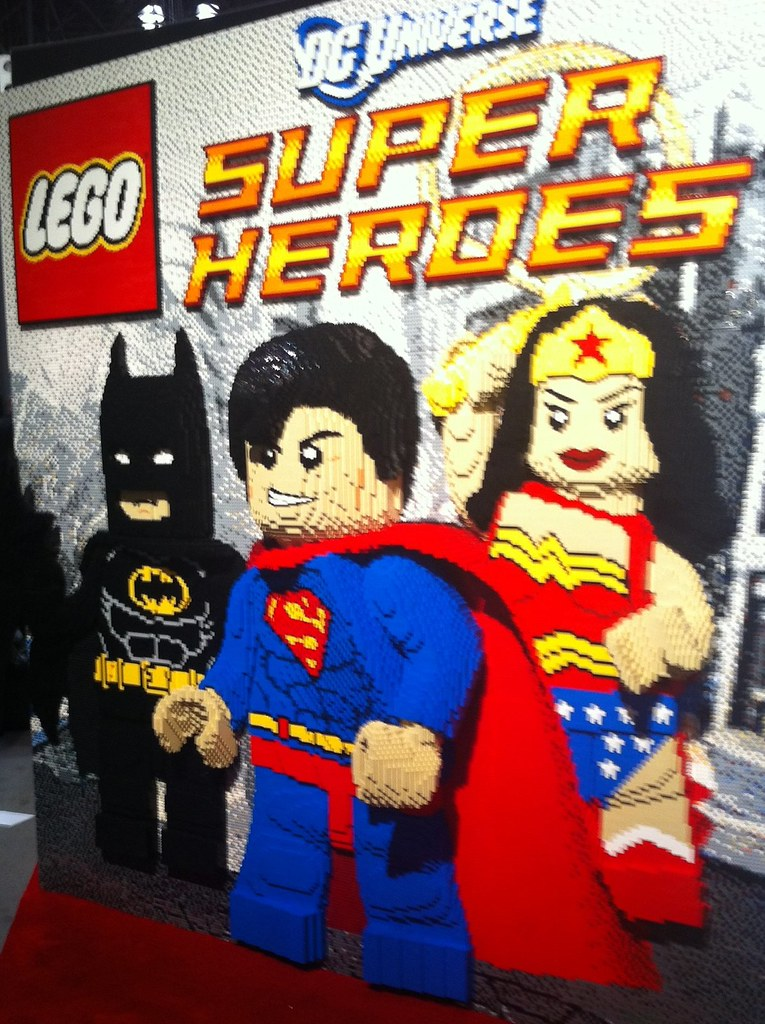 LEGO Super Heros at Toy Fair NYC