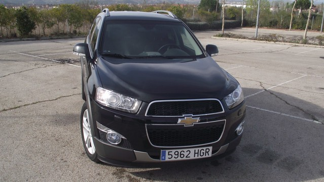 Prueba Chevrolet Captiva Ltz 2 2 Vcdi 184 Cv Awd Aut