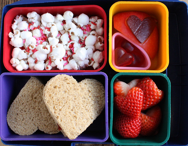 Second Grade Valentine Bento Box (556)
