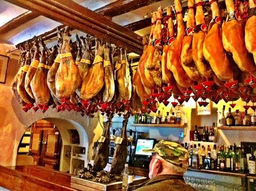 Santa Gertrudis de Fruitera Ibiza | Bar Costa | Jamones
