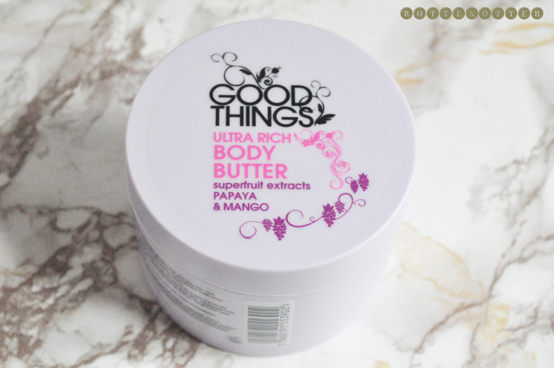 good things body butter 1