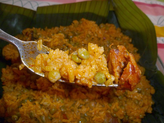 Arroz con Gandules y Chorizo – Rice with Pigeon Peas + Spanish ...