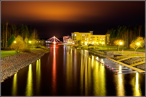 longexposure water night canon finland hdr joensuu photomatix marjala