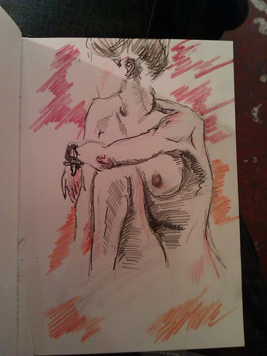 Life drawing and Candid Arts Trust