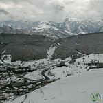 Snow Covered Mountains from Astara to Ardabil - Iran
