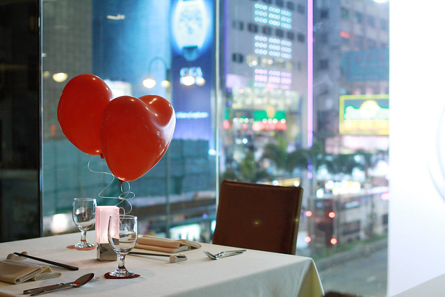Valentine's Day Dinner 2012 Sheraton
