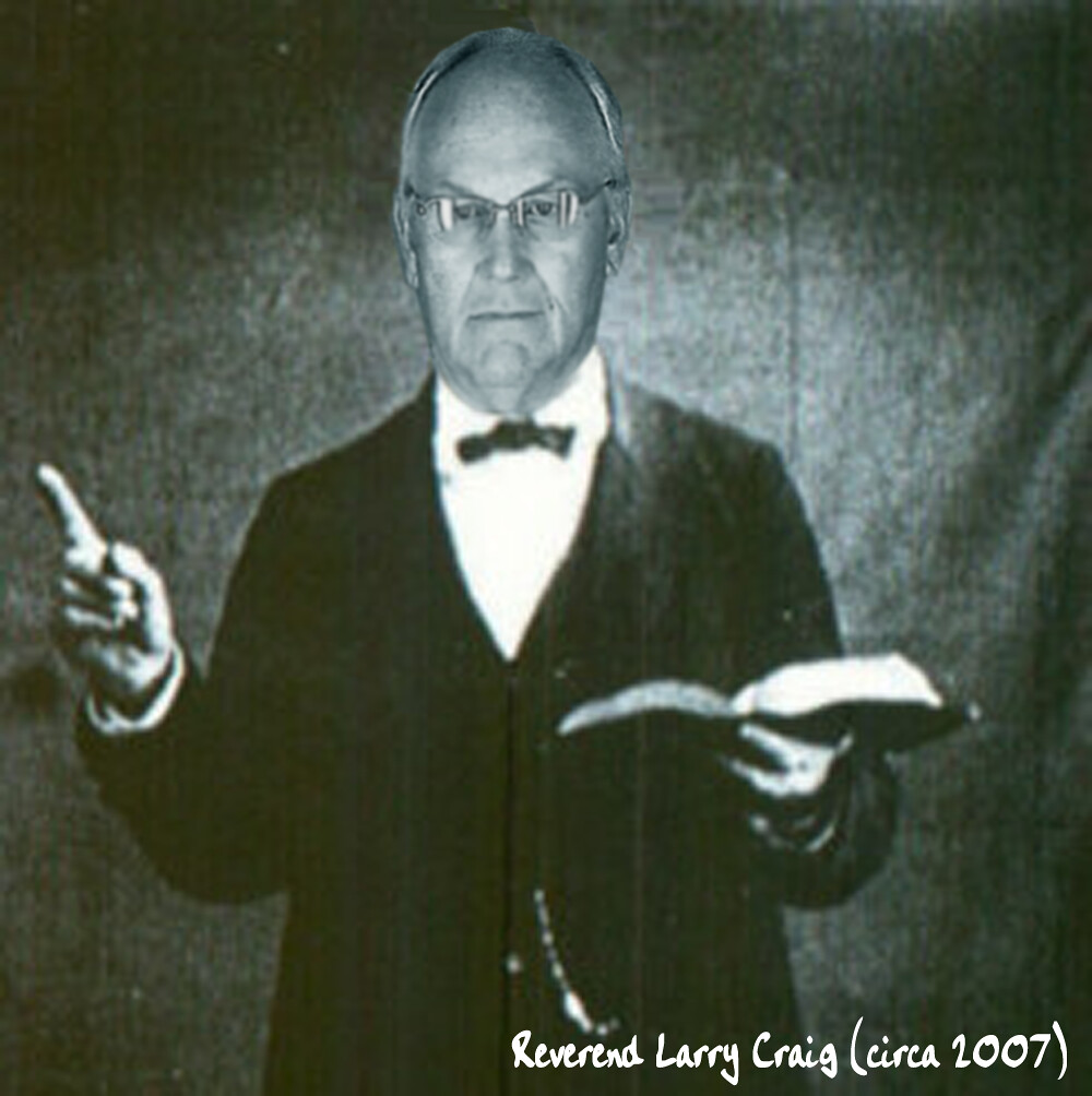 REVEREND LARRY CRAIG