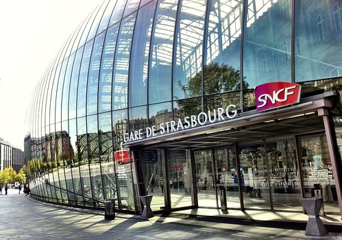 Strasbourg main train station