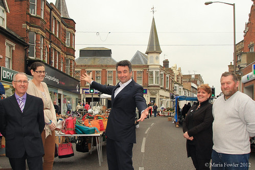 'TOWN TEAM' PLEASED BY SUPPORT FROM MP