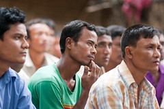 Farmers learn in Bangladesh