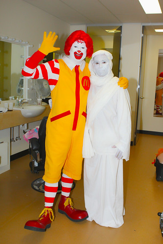 Ronald McDonald, Vince Cantali by Eva Rinaldi Celebrity and Live Music Photographer