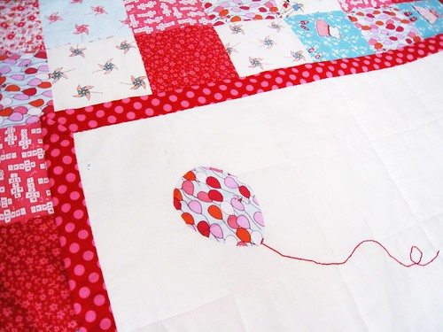 Balloon Applique and Embroidery