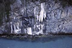 winter, glacial landform, ice, formation, icicle, freezing,
