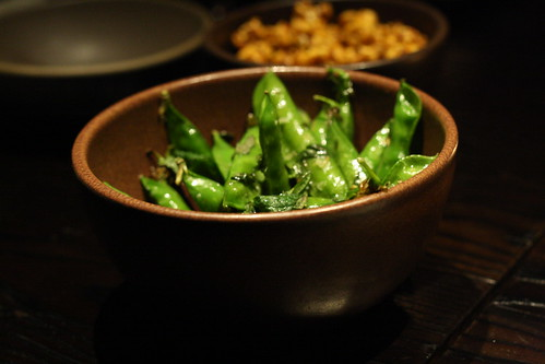 Wood Roasted English Peas