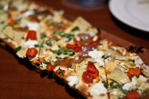 Goat Cheese & Artichoke Flatbread