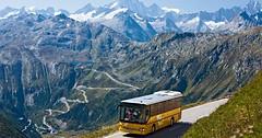Autobusem do Švýcarska
