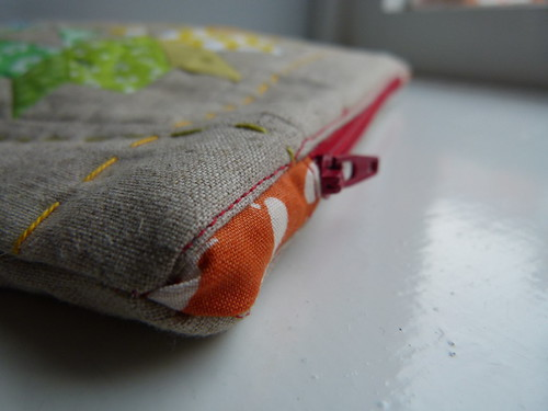 Mini Swoon Zipper pouch