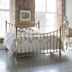 Sage Brass Bed
