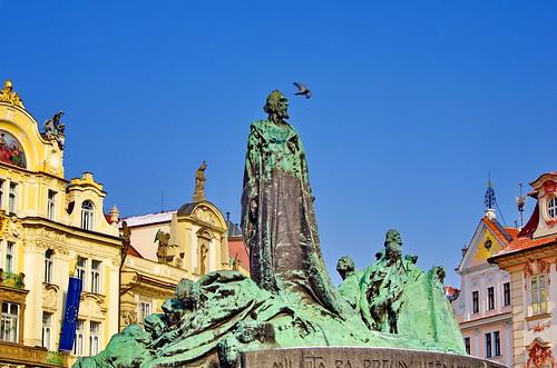 Prague Staroměstské náměstí 48 Jan Hus Memorial