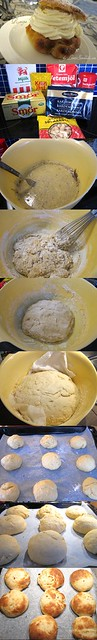 Making the semlor bread bun - part i