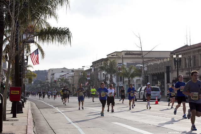 Rock n' Roll Marathon passes through Old Pasadena