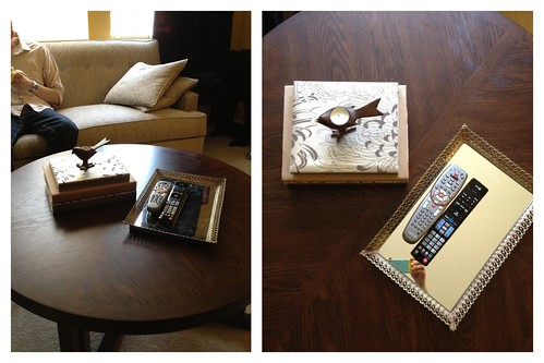 Coffee Table Styling Attempt 1