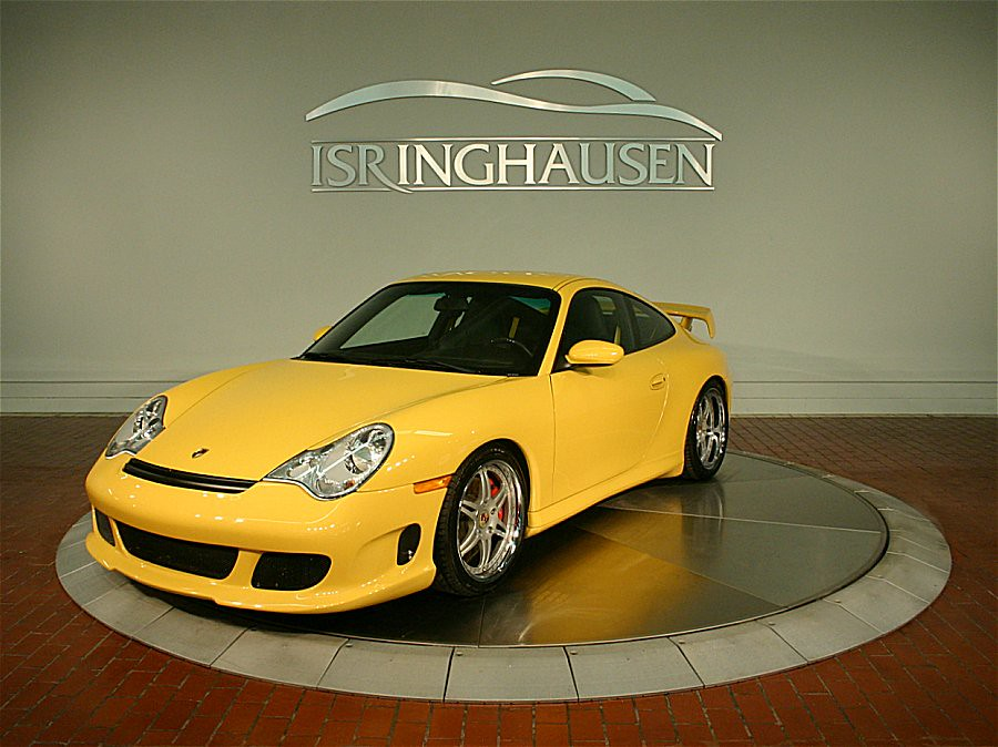 speed yellow 2002 porsche 911 carrera 4s gemballa body kit. Black Bedroom Furniture Sets. Home Design Ideas