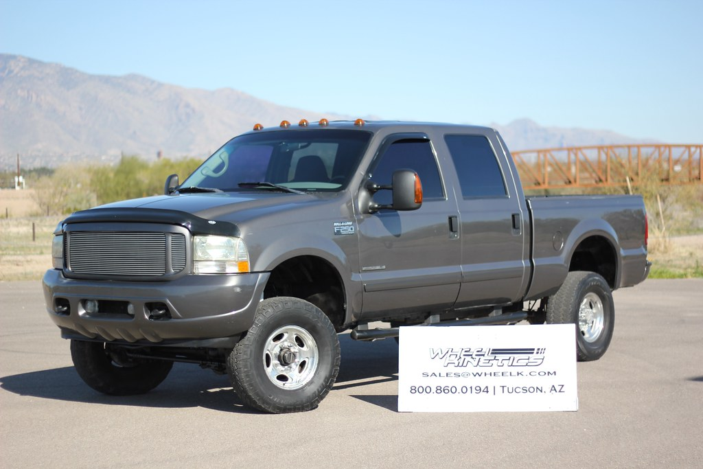 2002 Ford F250 Crew 73 4x4 Diesel  Truck For Sale