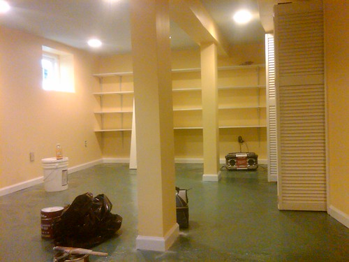 Basement Remodeling Ceiling Walls and Floor