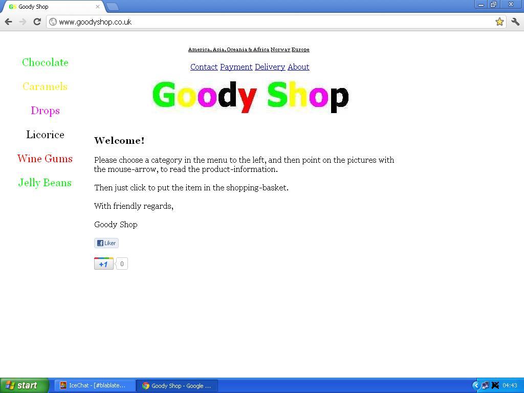 goody shop storbritannia