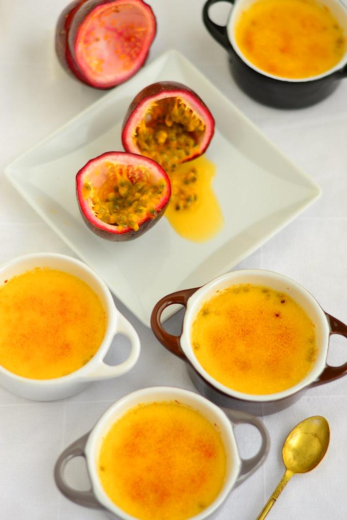 créme brulée with passionfruit 4