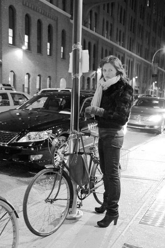 jill_bike nyc street fashion nyfw velo vogue