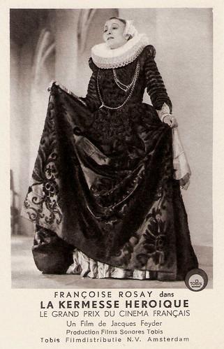 Francoise Rosay, La kermesse heroique