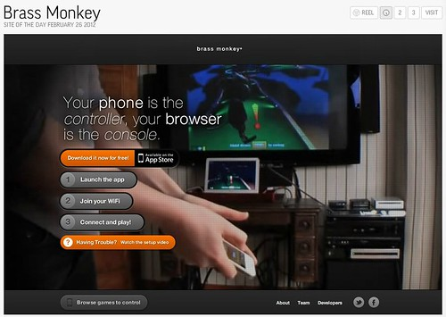Brass Monkey - Site of the Day 2_26_12 by stevegarfield