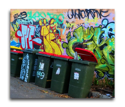 bins in lane